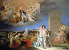 Alegoria das virtudes de D. João VI, pintura de Domingos Sequeira.- João VI de Portugal – Wikipédia, a enciclopédia livre