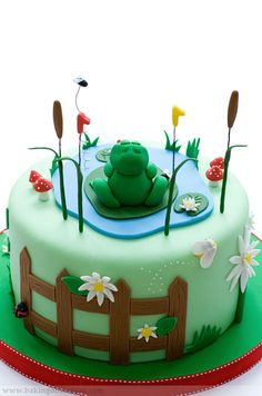 frog cake - Google Search