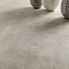 carrelage_sol_et_mur_beige_effet_pierre_pietra_l_60_x_l_60 _cm 29,90€ Exterior Design, Interior And Exterior, Murs Beiges, Corten Steel, Facade Architecture, Kitchen Flooring, Apartment Living, Tile Floor, Tiles