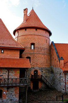 Medieval castle, Lithuania