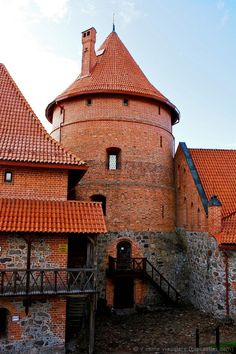 Medieval castle, Lithuania