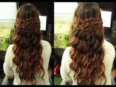 Selena Gomez Boho Braided Hairstyle (Inspired) Simplified Version