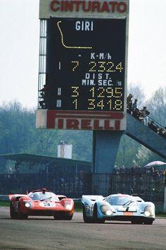 Ferrari 512S vs. Porsche 917 • Monza 1970