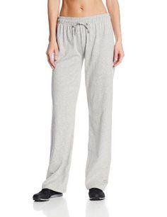 Champion Women's Jersey Pant, Oxford Grey, XX-Large - http://www.exercisejoy.com/champion-womens-jersey-pant-oxford-grey-xx-large/athletic-clothing/