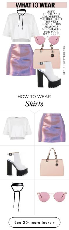 """OOTD"" by gigi-lucid on Polyvore featuring Topshop, Folio, MICHAEL Michael Kors and Oliver Peoples"