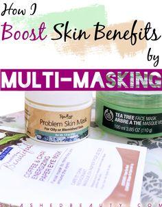 How I Boost Skin Benefits by Multi-Masking | Slashed Beauty
