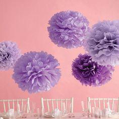 45cm POM POM Tissue Paper Pom Poms Flower Balls Party Wedding Home Birthday Tea Party Decorations