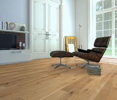 Suelo de madera ROBLE NATURAL - Leroy Merlin