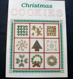 Southern Living Christmas Cookies 1990 PB (111114-1377) cookbooks, cookies - $2.75