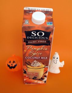 I want! The Laziest Vegans in the World: So Delicious Pumpkin Spice Coconut Milk