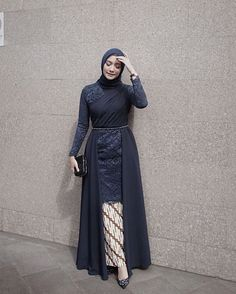 Inspired by - Hijab+ Kebaya Modern Hijab, Model Kebaya Modern, Kebaya Hijab, Kebaya Dress, Dress Pesta, Model Kebaya Muslim, Hijab Gown, Hijab Dress Party, Hijab Style Dress