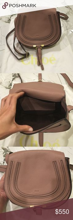 Authentic Chloe Marcie Small Leather Crossbody Bag Authentic Chloe Marcie Small Leather Crossbody Bag. Chloe Bags Crossbody Bags