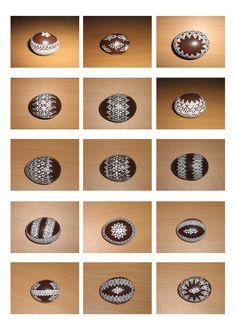 kraslice a svíčky: kraslice slepičí Egg Art, Egg Decorating, Easter Eggs, Doodles, Patterns, Paper, Eggs, Easter, Block Prints