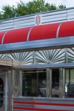 Rising Sun Detail - Blairstown Diner Blairstown, NJ