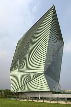 Centre For Sustainable Energy Technologies, Ningbo, China (Mario Cucinella)