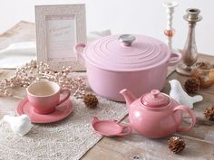 Chiffon Pink Le Creuset Kitchen Collection Tools Stuff