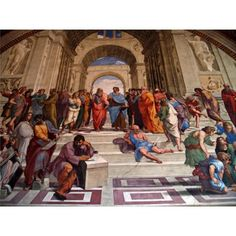 Puzzle Escuela de Atenas, Raffaello, 1000 piezas, Clementoni   http://sinpuzzle.com/puzzle-1000-piezas/861-31404-puzzle-escuela-de-atenas-raffaello-1000-piezas-clementoni.html