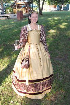 Renaissance Festival Princess Dress by convivialcrafter on Etsy, $400.00