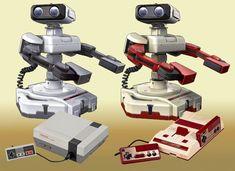 Robotic Operating Buddy - Famicom Robot - ROB - NES - Nintendo Entertainment System - Famicom - Nintendo - Super Smash Bros - Super Smash Brothers - 3DS - Wii U
