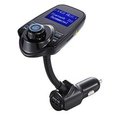 $8.95 (50% Off) on LootHoot.com - AlenJ FLEXIBLE Bluetooth In-Car FM Transmitter with USB Charging , Multipoint , Music Controls