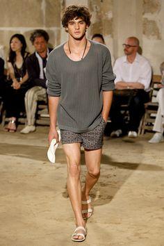 Hermès Spring 2010 Menswear