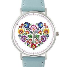 Polecamy nasz zegarek z łowickim sercem na prezent dla ukochanej ❤ zostały nam ostatnie sztuki z tej kolekcji #zegarek#folk#polishfolk#prezent#walentynki#naludowo#serce#lowicz#polska#swatch#fashion#heart
