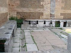 "Pompeii Public Toilets - The Romans used a stick with a sponge on one end to clean themselves after defecating in a communal toilet. When finished with their business, they would pass it to the next guy in line. If the next guy happened to grab the wrong (dirty) end he was said to have ""gotten the wrong end of the stick."" The related version is ""short end of the stick"" (along with a scatological slang version)."