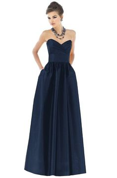 Alfred Sung D541 Bridesmaid Dress  