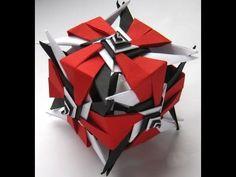 ▶ #35 Kusudama spiral by Ирина Krivyakina - Yakomoga Origami tutorial - YouTube