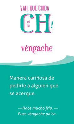 véngache. la palabra del día en @ElChingonario: