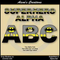 Superhero alphabet clip art set inspired by Batman Superhero Alphabet, Superhero Classroom, Superhero Kids, Superhero Party, Alphabet Letters, Batman Birthday, Batman Party, Superhero Baby Shower, Baby Batman