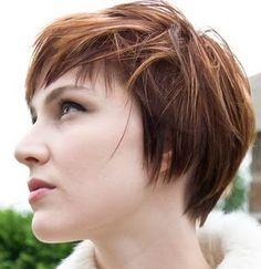 feminine short haircuts for fine hair - Google Search