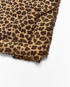 Image 2 of LEOPARD PRINT SOFT SCARF from Zara
