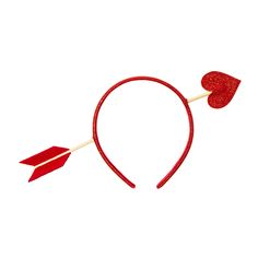 Valentine's Day Struck with Arrow Headband | Icing