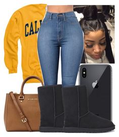 """""""Untitled #586"""" by bree-lauf ❤ liked on Polyvore featuring Michael Kors and UGG Australia"""