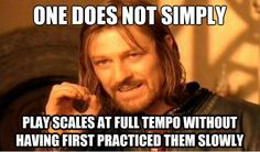 Bravo Music Blog: Friday Funnies - Playing Scales