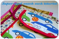 Jane of all Trades: Super-sized snack sack tutorial