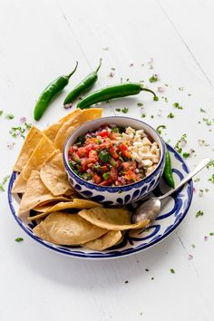 This authentic Mexican salsa recipe is the tableside salsa you enjoyed on vacation in Puerto Vallarta, Mexico. Make it at home in 15 minutes! Great as a condiment or appetizer. It's the best homemade salsa! #salsa #appetizers #HomemadeSalsa #authenticMexicansalsa #cincodemayo