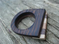 Wooden ring 2013. by Valentina Stepan, via Behance