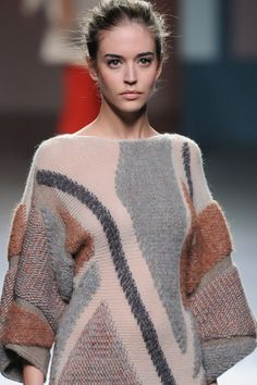 Mysterious smoky color harmonies and sophisticated structures.  Sita Murt knitwear collection A/W 2012/13