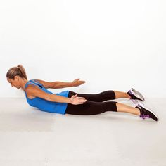 Spine Extensions - Back Workout: 8 Exercises for Back Pain Relief and Good Posture - Shape Magazine
