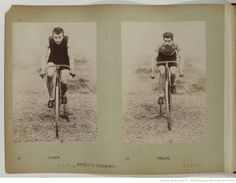 F. 5v. Claude ; Bonicho, Bicyclette Whitworth; Claude, Baseball Cards, Collection, Sport Photography, Bicycle Kick, Athlete