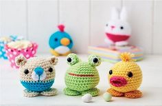 These squidgy makes tick all the right boxes – they're easy to whip up, adorable to look at, and the possibilities are endless. With a collection made up of a bear, bunny, frog, bluebird or chick – we think you'll have trouble choosing which one to start first!