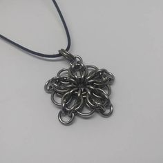 Stainless steel celtic chainmaille star