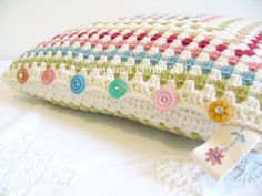 Wow....so lovely! - love the embroidered tag and crocheted buttons