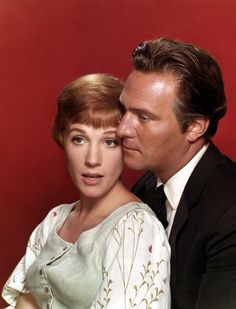 On screen dynamic couple ~ Julie Andrews & Christopher Plummer of Sound of Music fame
