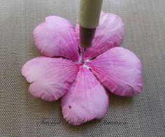 Selma's Stamping Corner: Susan's Garden Hibiscus - My Tutorial