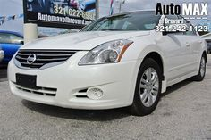 Trustworthy and worry-free, this Used 2012 Nissan Altima 2.5 S lets you cart everyone and everything you need in one vehicle. It comes equipped with these options: Zone body construction, Xtronic continuously variable transmission (CVT) w/manual shift mode, Warning lights -inc: door ajar, low fuel, low washer fluid, Velour seat trim, Vehicle security system, Vehicle info display, Vehicle immobilizer system, Vehicle dynamic control, UV reducing glass w/dark upper windshield band, and Trip…