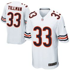 Nike Charles Tillman Chicago Bears Youth Game Jersey - White christmas