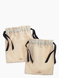 Kate Spade Wash & Wear Lingerie Bag Set, Natural